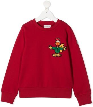 Moncler Enfant Patch-Detail Sweatshirt