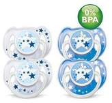 Philips Avent Night Time Pacifiers (6-18 months)- 4 pk
