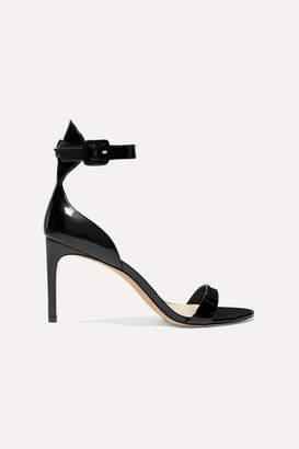 Sophia Webster Nicole Patent-leather Sandals - Black
