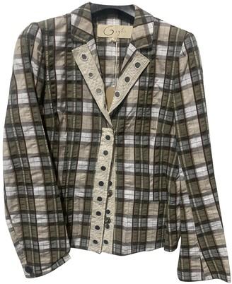 Romeo Gigli Multicolour Cotton Jacket for Women