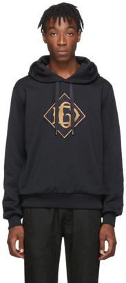 Dolce & Gabbana Navy Logo Hoodie
