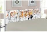Deer Queen Upholstered Panel Headboard East Urban Home Size: Twin