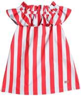 Fendi Striped Cotton Poplin Dress