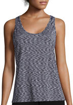 INSPIRED HEARTS Inspired Hearts Space Dye X-Back Tank Top - Juniors