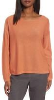 Eileen Fisher Women's Tencel & Wool Boxy Sweater