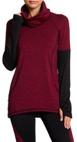 Andrew Marc Cowl Neck Long Sleeve Tunic