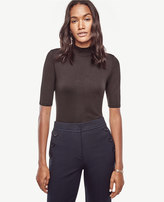 Ann Taylor Funnel Neck Top