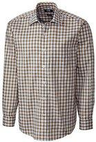 Cutter & Buck Men's Long Sleeve Kingsway Plaid Woven Shirt