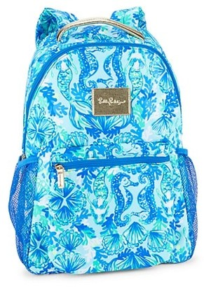 Lilly Pulitzer Seaglass Printed Backpack