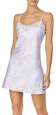 Ralph Lauren Ralph Lace-Trim Double-Strap Chemise Nightgown