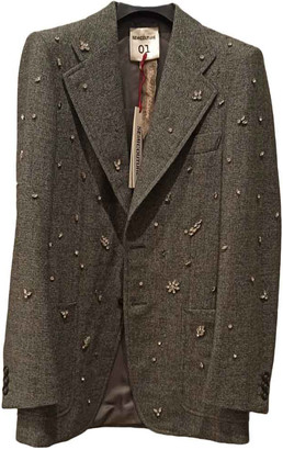 Semi-Couture Semicouture Green Wool Jackets