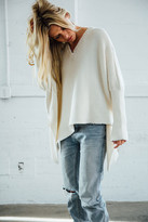 Joah Brown - Layer Me Pullover Sweater In Ivory