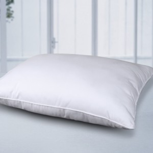 Cottonpure Self-Cooling Multi-Position Feather-Core and Cotton-Filled Soft Bed Pillow with Cotton Cover