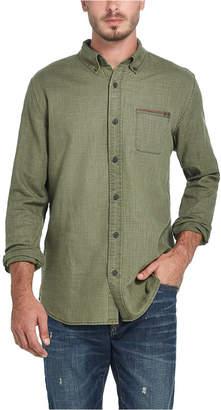 Weatherproof Vintage Men Twill Button-Down Shirt