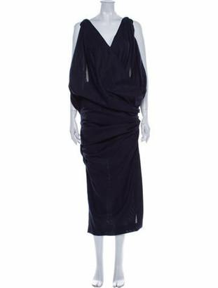 Jacquemus Wool Long Dress Wool