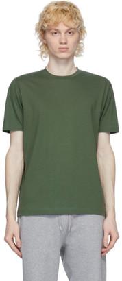 Sunspel Green Organic Cotton Riviera T-Shirt