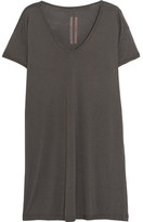 Rick Owens Oversized Jersey T-shirt - Gray