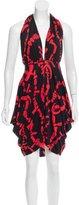 Mara Hoffman Printed Silk Midi Halter Dress