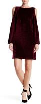 Adrianna Papell Textured Velvet Shift Dress (Missy & Petite)