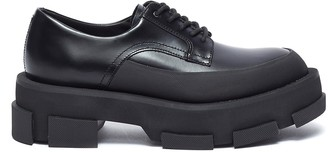 both 'Gao' platform lace up derby shoes