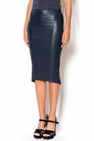 B.ella Pleather Midi Skirt