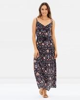 Volcom Lotus Garden Maxi Dress