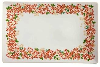 Maxwell & Williams Festive Blossom Rectangle Platter 40x26cm Gift Boxed