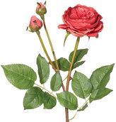 OKA Faux English Double Rose Stem