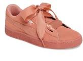 Puma Girl's Suede Heart Sneaker