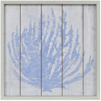 New View Gifts & Accessories Gifts Blue & White Coral Wall Art
