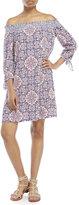 Jessica Simpson Marlika Off-The-Shoulder Dress