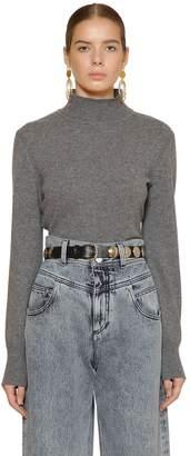 Alberta Ferretti Cashmere & Virgin Wool Knit Sweater