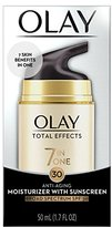 Olay Total Effects 7 in one, Anti-Aging Moisturizer With SPF 30, 1.7 Fluid Ounce, Packaging May Vary