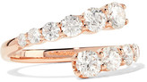 Anita Ko Twist 18-karat Rose Gold Diamond Ring - 7