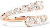 Anita Ko Twist 18-karat Rose Gold Diamond Ring