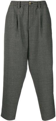 Marni Elastic Waist Loose Trousers