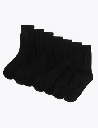Marks and Spencer 7 Pack Cotton Rich Socks