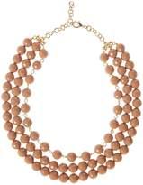 Marella Aceto tiered bead necklace