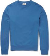 Acne Studios - Casey Loopback Cotton-jersey Sweatshirt
