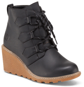 Wedged Lace Up Ankle Booties