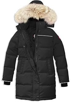 Canada Goose Unisex Juniper Fur Trimmed Hooded Parka - Big Kid