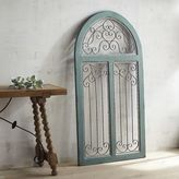 Pier 1 Imports Blue Antiqued Arch Wall Decor