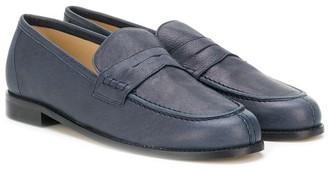 Prosperine Kids TEEN leather penny loafers