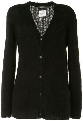 Chanel Pre Owned 1998 CC button cardigan