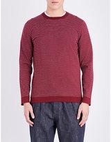 Brunello Cucinelli Striped Knitted Jumper