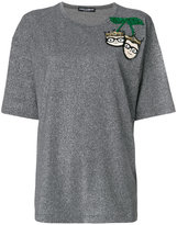 Dolce & Gabbana T-shirt with sequin embroidery