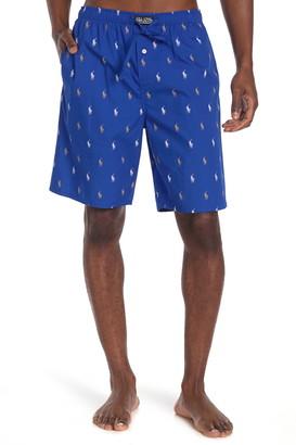 Polo Allover Print Sleep Shorts