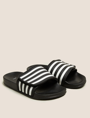 Marks and Spencer Kids' Striped Riptape Sliders (13 Small - 7 Large)