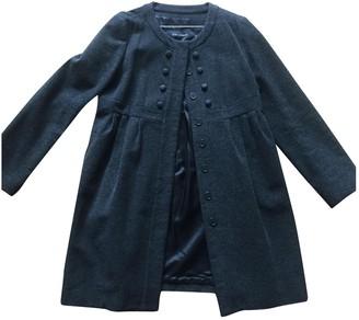 Tara Jarmon Anthracite Wool Coat for Women