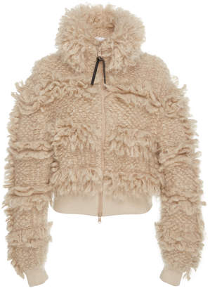Brunello Cucinelli Mohair And Wool-Blend Bomber Jacket